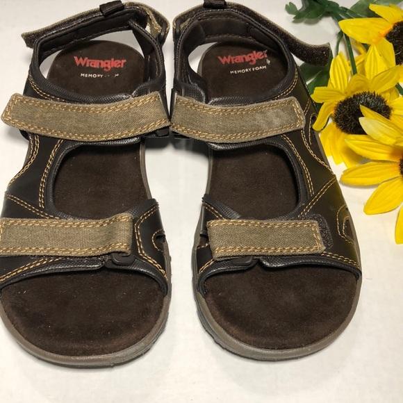 Wrangler Shoes | Memory Foam Sandals